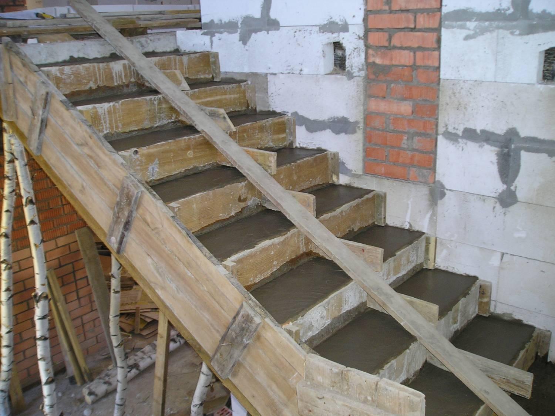 Бетон лестницы своими руками