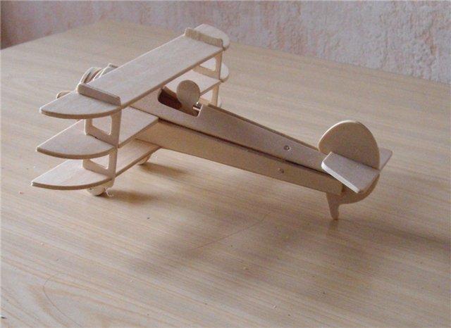 کاردستی با چوب سه لایه